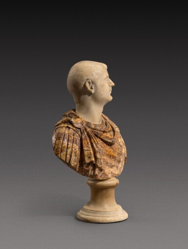 View 3. Thumbnail of Lot 159. Italian, 18th century | Bust of an Emperor.