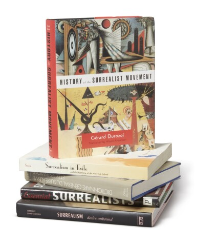 View 1. Thumbnail of Lot 42. A SURREALIST LIBRARY.