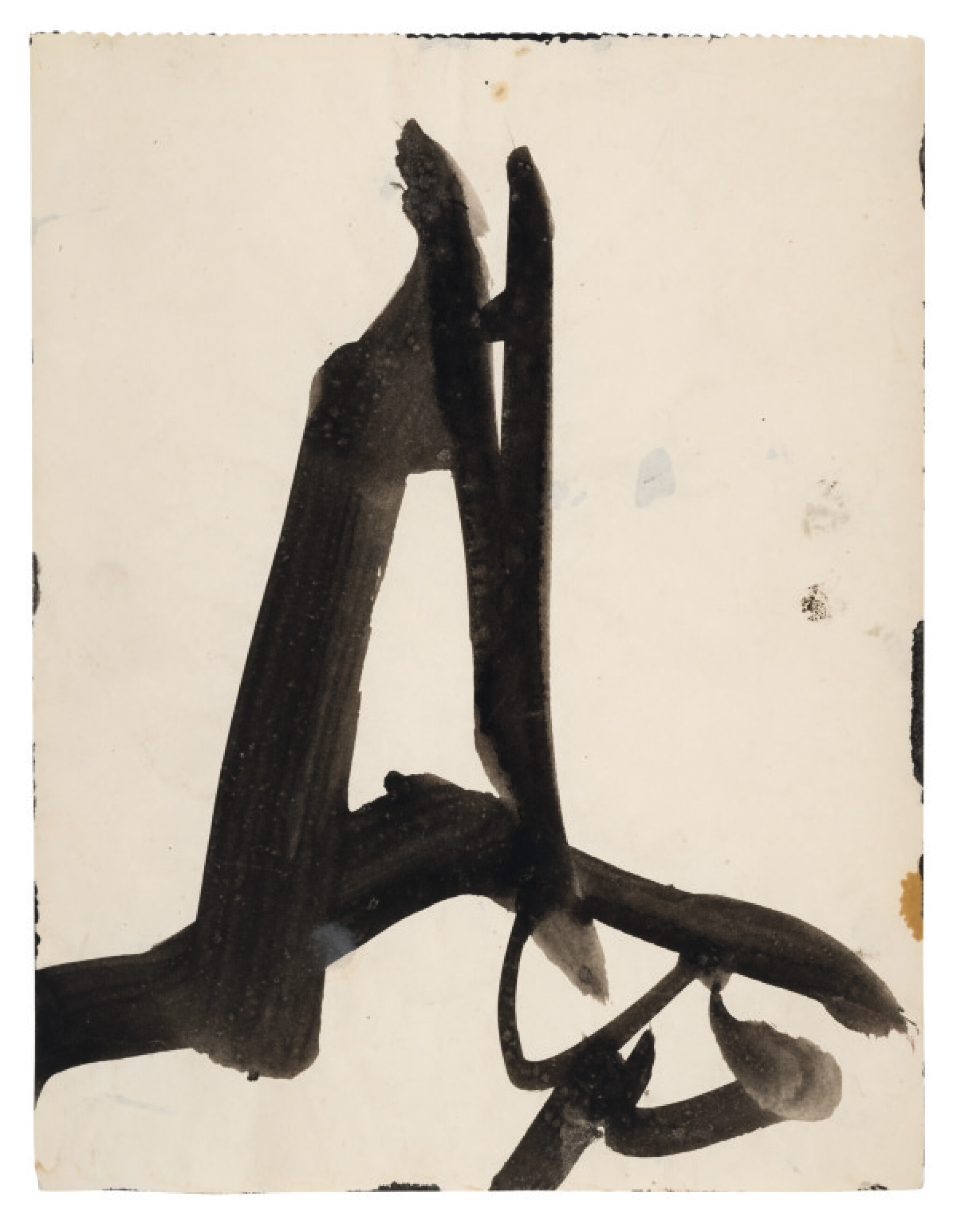 View full screen - View 1 of Lot 4. FRANZ KLINE | UNTITLED.