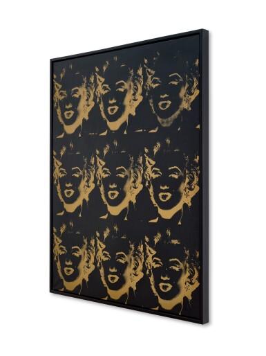 View 3. Thumbnail of Lot 124. 9 Gold Marilyns (Reversal Series) | 《九幅瑪麗蓮・夢露(反面系列)》.