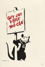 BANKSY | GET OUT WHILE YOU CAN