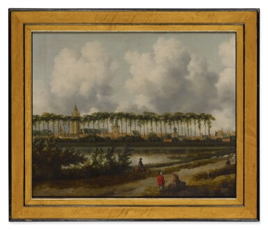 View 2. Thumbnail of Lot 554. A view of Gorinchem from the southwest.