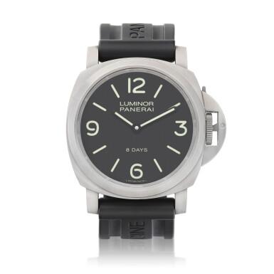 View 1. Thumbnail of Lot 8159. Luminor, Reference PAM562   A titanium wristwatch, Circa 2017   沛納海   Luminor 型號PAM562   鈦金屬腕錶,約2017年製.