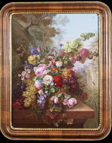 View 4. Thumbnail of Lot 127. A Highly Important and Monumental Imperial Presentation Porcelain Plaque, Imperial Porcelain Factory, St Petersburg, Period of Nicholas I (1825-1855), 1852.