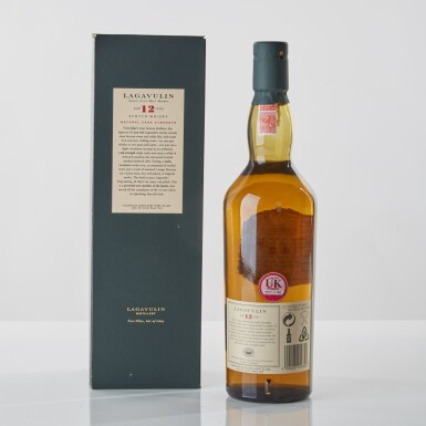 View 2. Thumbnail of Lot 113.  Lagavulin 12 Year Old 2002 Special Release 58.0 abv NV .