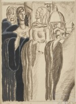 Drawing of Three Women