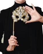 Henry Dunay | Gold, Diamond and Simulated Diamond 'Lachrymosa' Mask