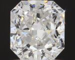 A 1.21 Carat Cut-Cornered Square-Cut Diamond, F Color, VS1 Clarity