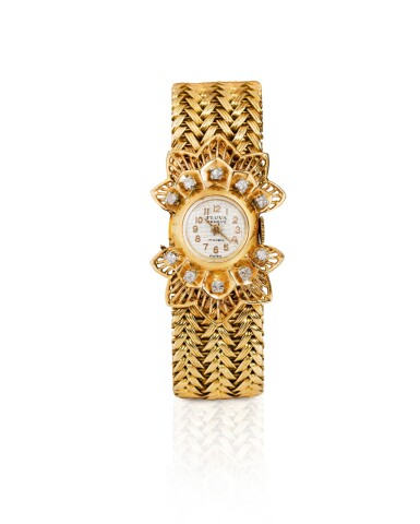 MONTRE BRACELET DE DAME DIAMANTS, VERS 1940 | LADY'S DIAMOND WRISTWATCH, 1940S