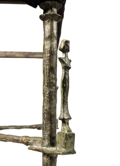View 4. Thumbnail of Lot 107. DIEGO GIACOMETTI | CARIATIDES TABLE  [TABLE AUX CARIATIDES].