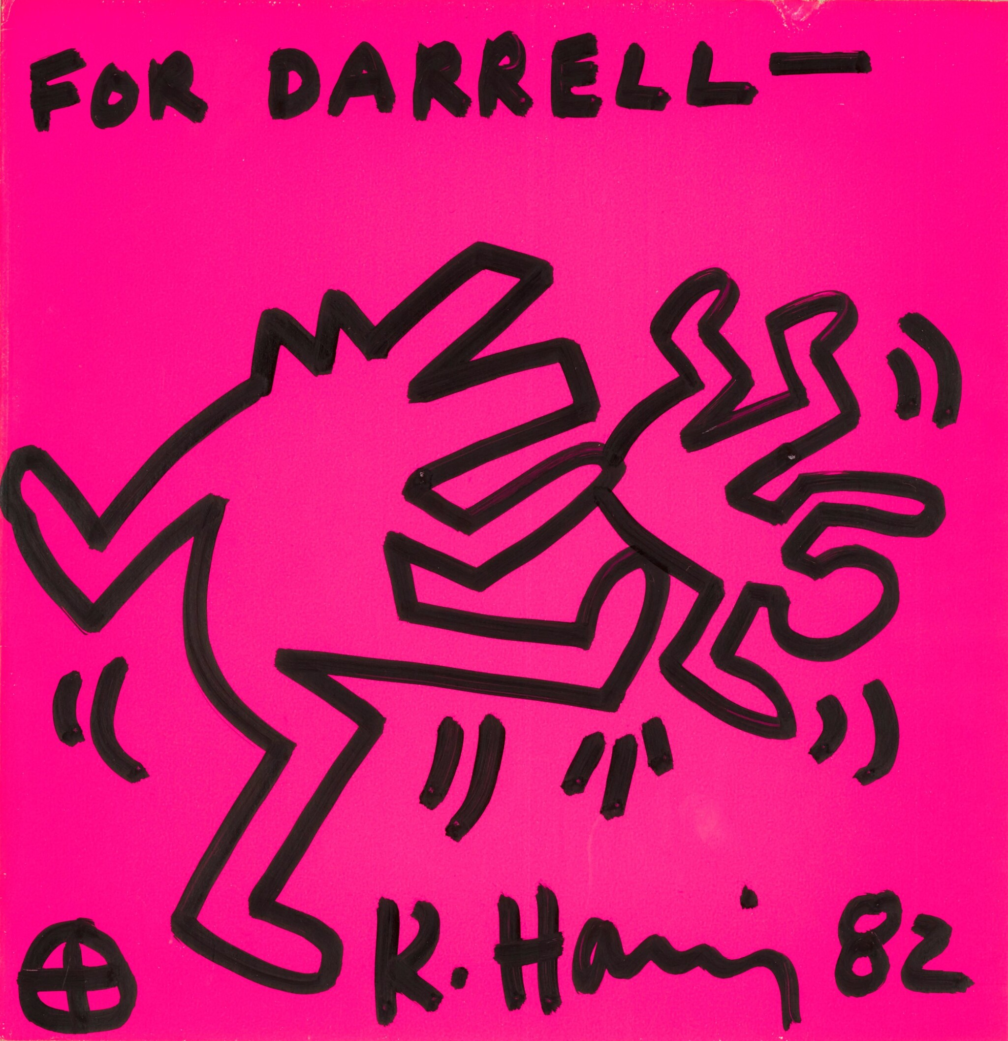 View full screen - View 1 of Lot 13. KEITH HARING |  UNTITLED .