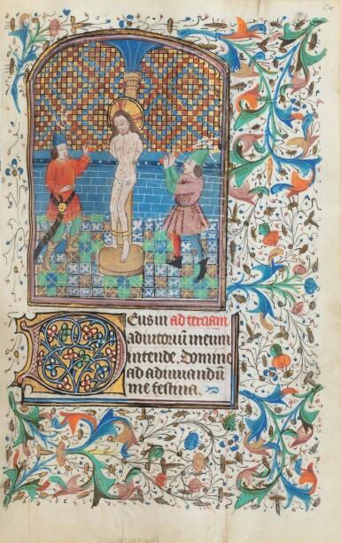 View 3. Thumbnail of Lot 23. Livre d'heures (usage de Rome). Heures dites de Fyot de Mimeure. [Belgique, Bruges, vers 1460].
