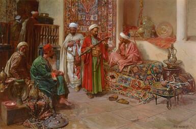JEAN-JOSEPH BENJAMIN-CONSTANT | AT THE BAZAAR