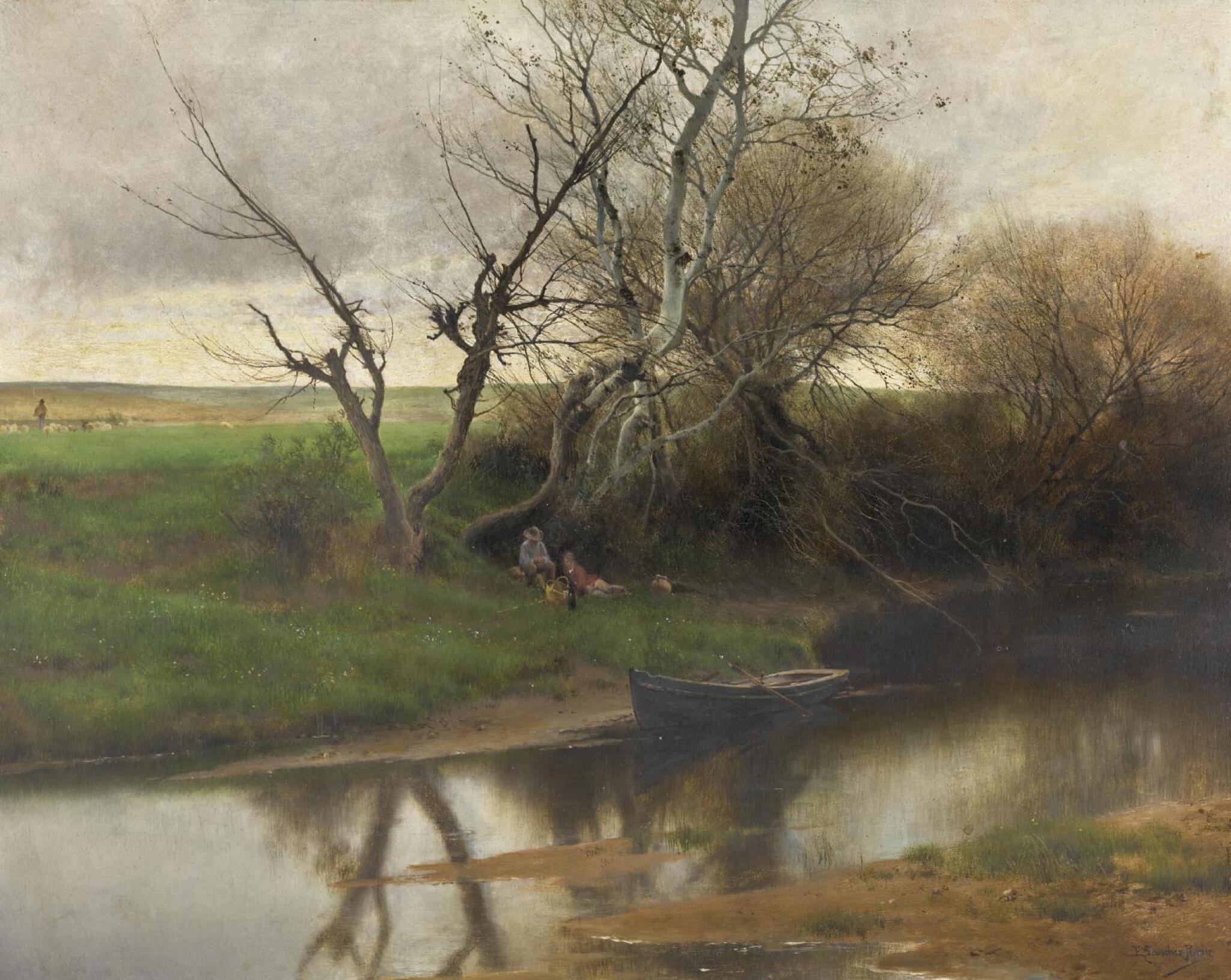 EMILIO SÁNCHEZ-PERRIER   A Quiet River