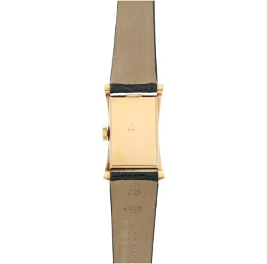 View 5. Thumbnail of Lot 147. REFERENCE 1593 A PINK GOLD WRISTWATCH, MADE IN 1953.