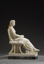 ITALIAN, EARLY 19TH CENTURY, AFTER THE ANTIQUE | SEATED AGRIPPINA