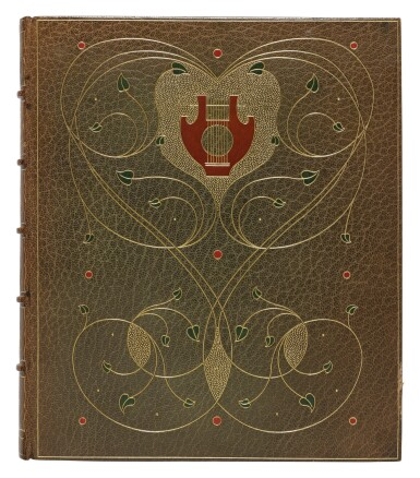 View 2. Thumbnail of Lot 258. Shakespeare, William — Alberto Sangorski [illuminator and calligrapher] | A sumptuously illuminated work, celebrating some of Shakespeare's best-loved verses .