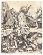 ALBRECHT DÜRER | THE PRODIGAL SON (B., M., HOLL. 28)