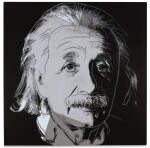 ANDY WARHOL | ALBERT EINSTEIN (FROM TEN PORTRAITS OF JEWS OF THE 20TH CENTURY)