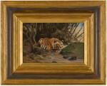 WILHELM KUHNERT | Tiger After his Prey