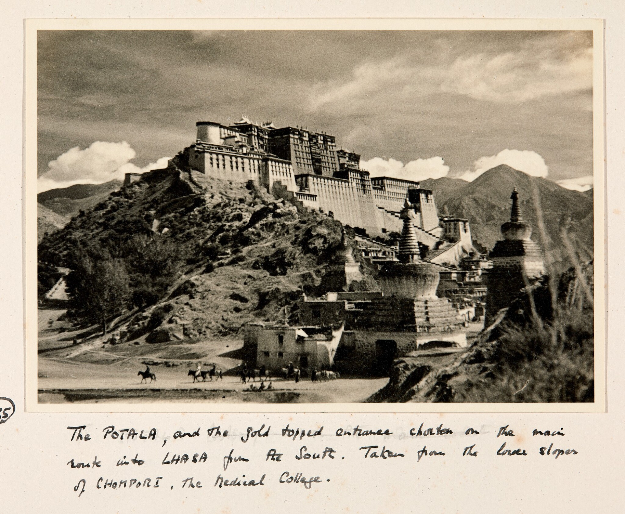 View full screen - View 1 of Lot 182. Tibet—Shepheard and Jack | Two albums of photographs of Tibet, 1938, with diary transcript and related material.