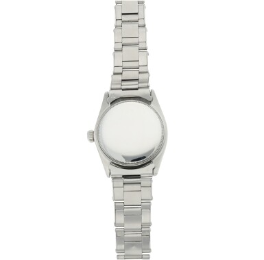 View 6. Thumbnail of Lot 95. ROLEX   REFERENCE 6548 OYSTER PERPETUAL 'MICKEY MOUSE'  A STAINLESS STEEL AUTOMATIC WRISTWATCH WITH BRACELET, CIRCA 1964.