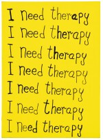 TOBY MOTT | I NEED THERAPY