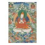 A THANGKA DEPICTING ATISHA, TIBET, CIRCA 1800