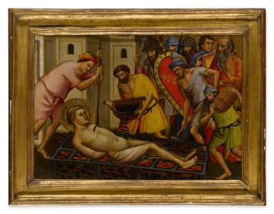 View 2. Thumbnail of Lot 4. The Martyrdom of Saint Lawrence.