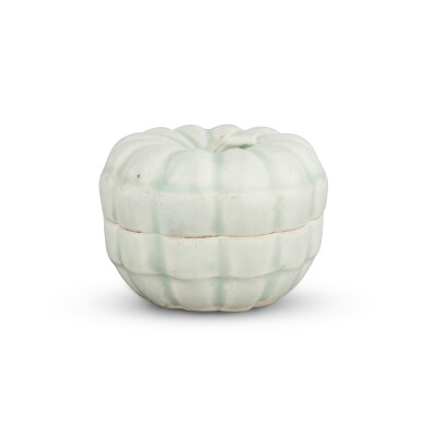 View 2. Thumbnail of Lot 191. A 'Qingbai' melon-form box and cover, Southern Song dynasty | 南宋 青白釉瓜棱式蓋盒.