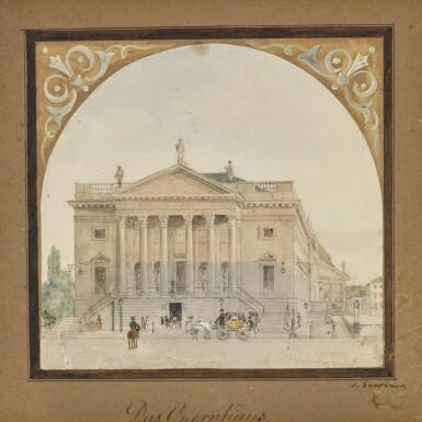 View 1. Thumbnail of Lot 53. Das Opernhaus (The Opera House).