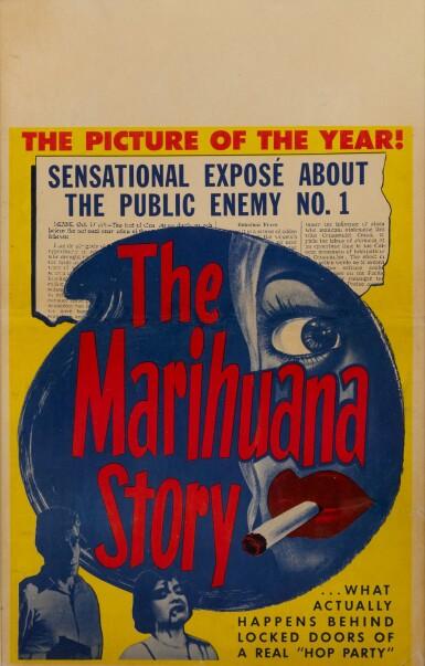 MARIHUANA / THE MARIHUANA STORY (1950) POSTER, US