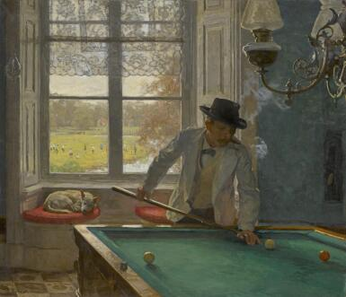 WILLEM BASTIAAN THOLEN    The Billiards Player