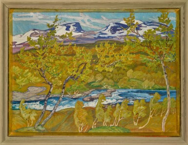 View 2. Thumbnail of Lot 6. The Lapporten Valley, Lapland.