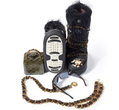 View 3. Thumbnail of Lot 17. COLLECTION OF ACCESSORIES, CHANEL.