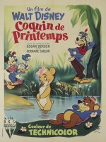 Fun and Fancy Free / Coquin de Printemps (1947) poster, French