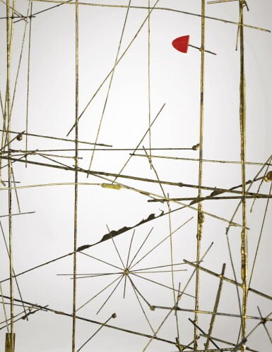 View 4. Thumbnail of Lot 303. HARRY BERTOIA | UNTITLED (WIRE CONSTRUCTION).