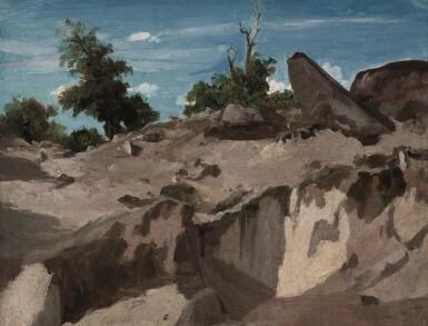 View 1. Thumbnail of Lot 642. Forêt de Fontainebleau - Au plateau brûlé.