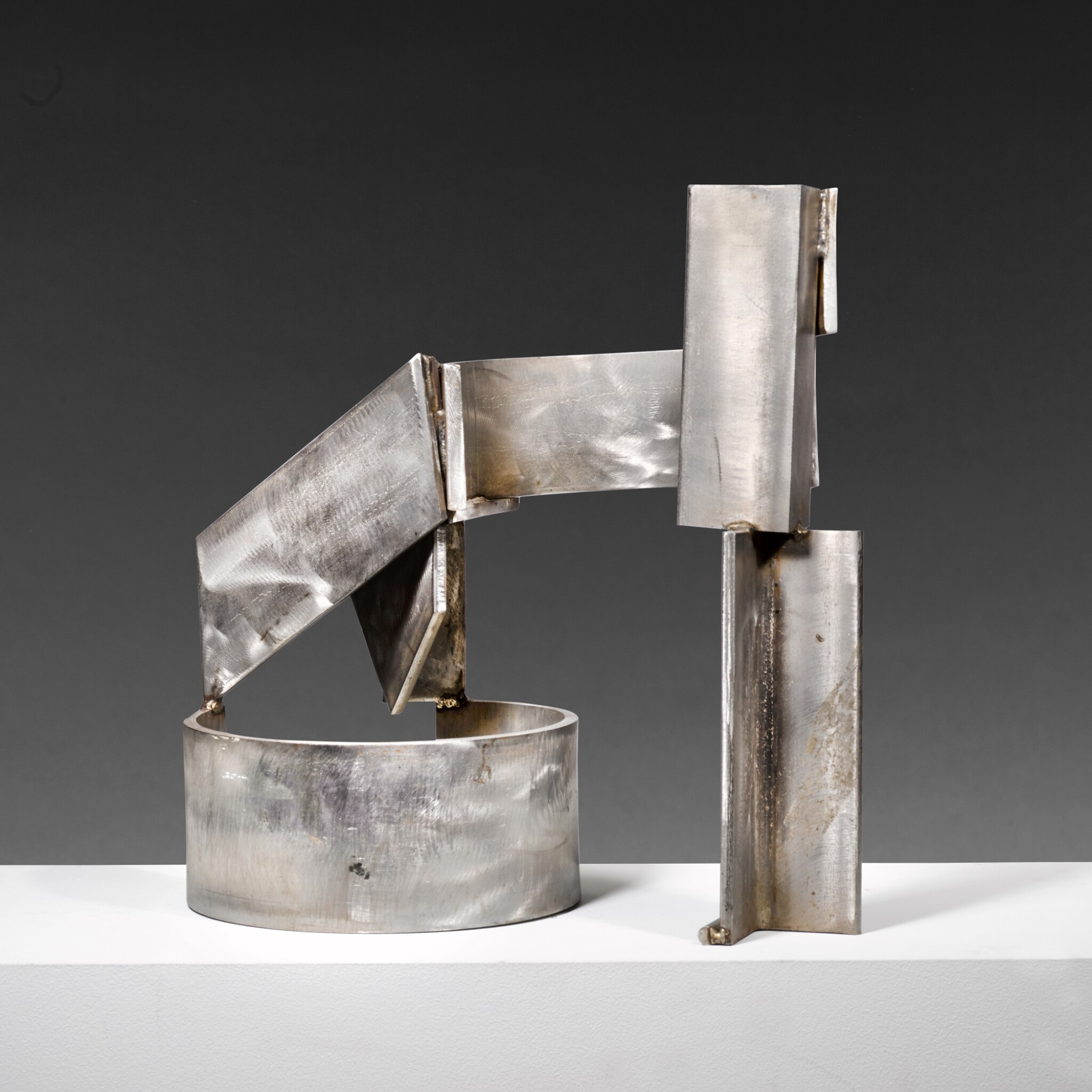 View full screen - View 1 of Lot 655. SIR ANTHONY CARO, R.A. | STAINLESS PIECE A-G.