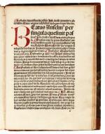 Textoris, Sermo de passione Christi, [Basel, 1486], nineteenth-century half calf
