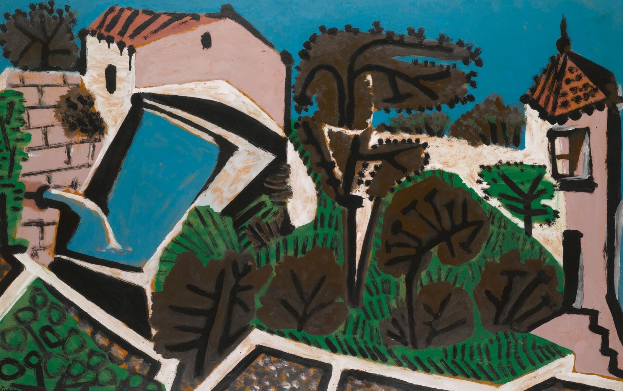 View full screen - View 1 of Lot 1027. PABLO PICASSO | LE RÉSERVOIR.