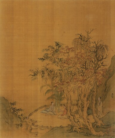 View 5. Thumbnail of Lot 2522.  ANONYMOUS 佚名   ALBUM OF VARIOUS OBJECTS AFTER SONG AND YUAN MASTERS 擬宋元諸家雜畫冊.