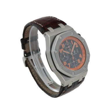 View 3. Thumbnail of Lot 654.  'VOLCANO' ROYAL OAK OFFSHORE, REF 26170ST.00.D101CR.01  STAINLESS STEEL CHRONOGRAPH WRISTWATCH WITH DATE CIRCA 2013.