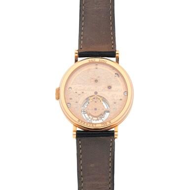 View 4. Thumbnail of Lot 444. Classique, Ref. 3350BR/12/286 Pink gold tourbillon wristwatch Made in 1996 | 寶璣 3350BR/12/286型號「Classique」粉紅金陀飛輪腕錶,1996年製.