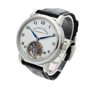 View 2. Thumbnail of Lot 297. Reference 730.025F 1815 Tourbillon  A limited edition platinum tourbillon wristwatch with zero-reset mechanism, Circa 2016.