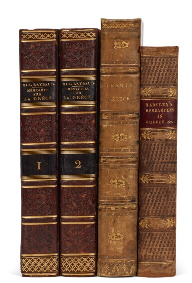 Peloponnese/Morea, 5 volumes in French | Buchon (Atlas), Castellan, Mangeart, and Stephanopoli