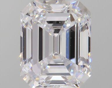 A 1.01 Carat Emerald-Cut Diamond, D Color, VVS2 Clarity