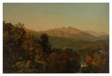 WILLIAM TROST RICHARDS | THE ADIRONDACKS