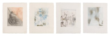 View 1. Thumbnail of Lot 41. The Hippies: Four Plates (M. & L. 377, 379, 383, 387; F. 69-13 D, F, I, J).