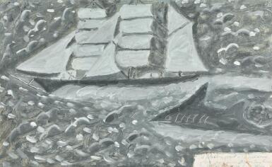 View 1. Thumbnail of Lot 5. JAMES DIXON | A SAILING SHIP.